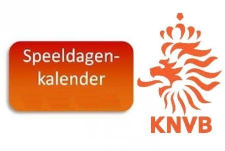Handig: KNVB Speeldagenkalender
