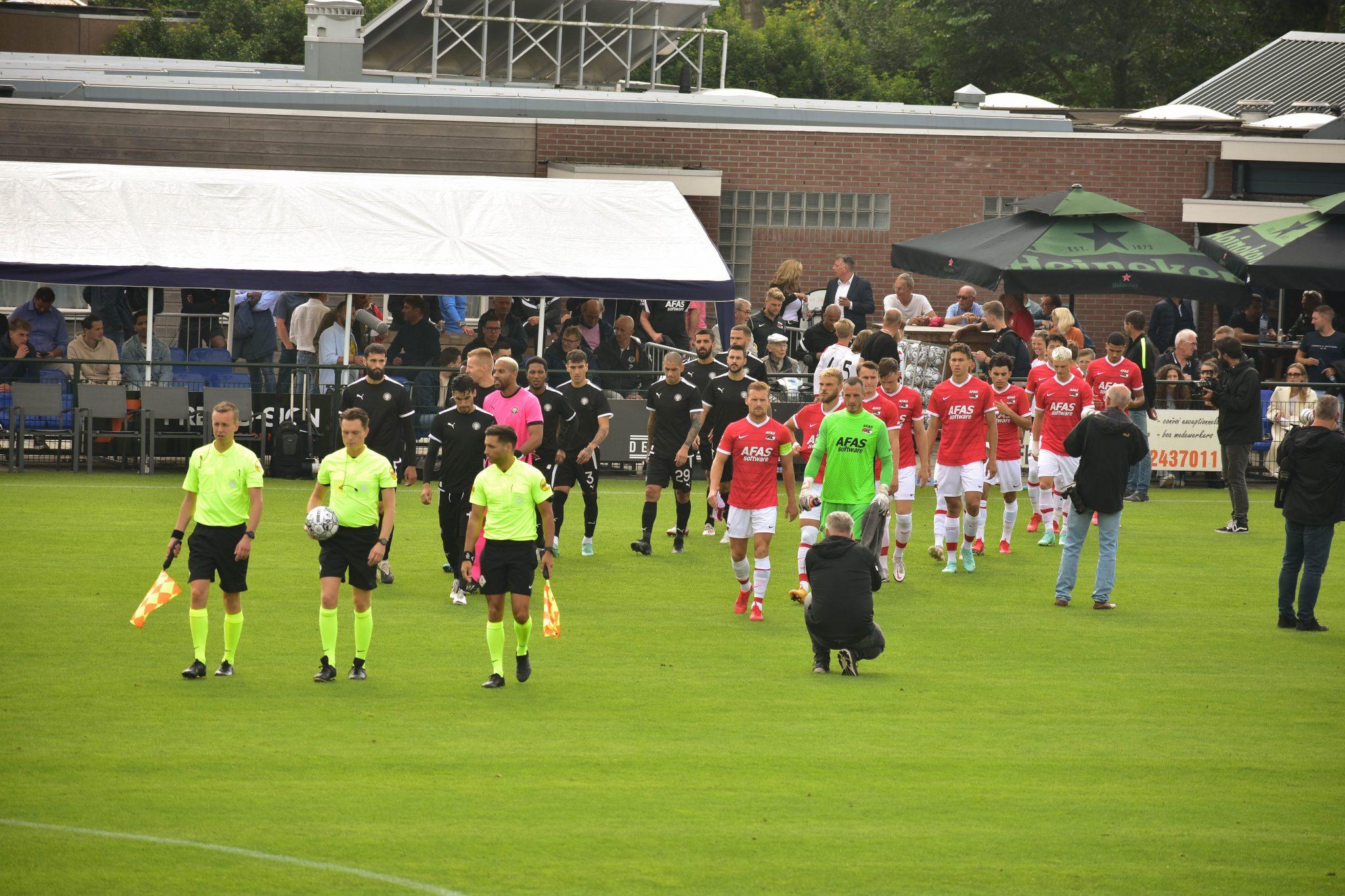 Sfeerimpressie van AZ bij VV Dirkshorn