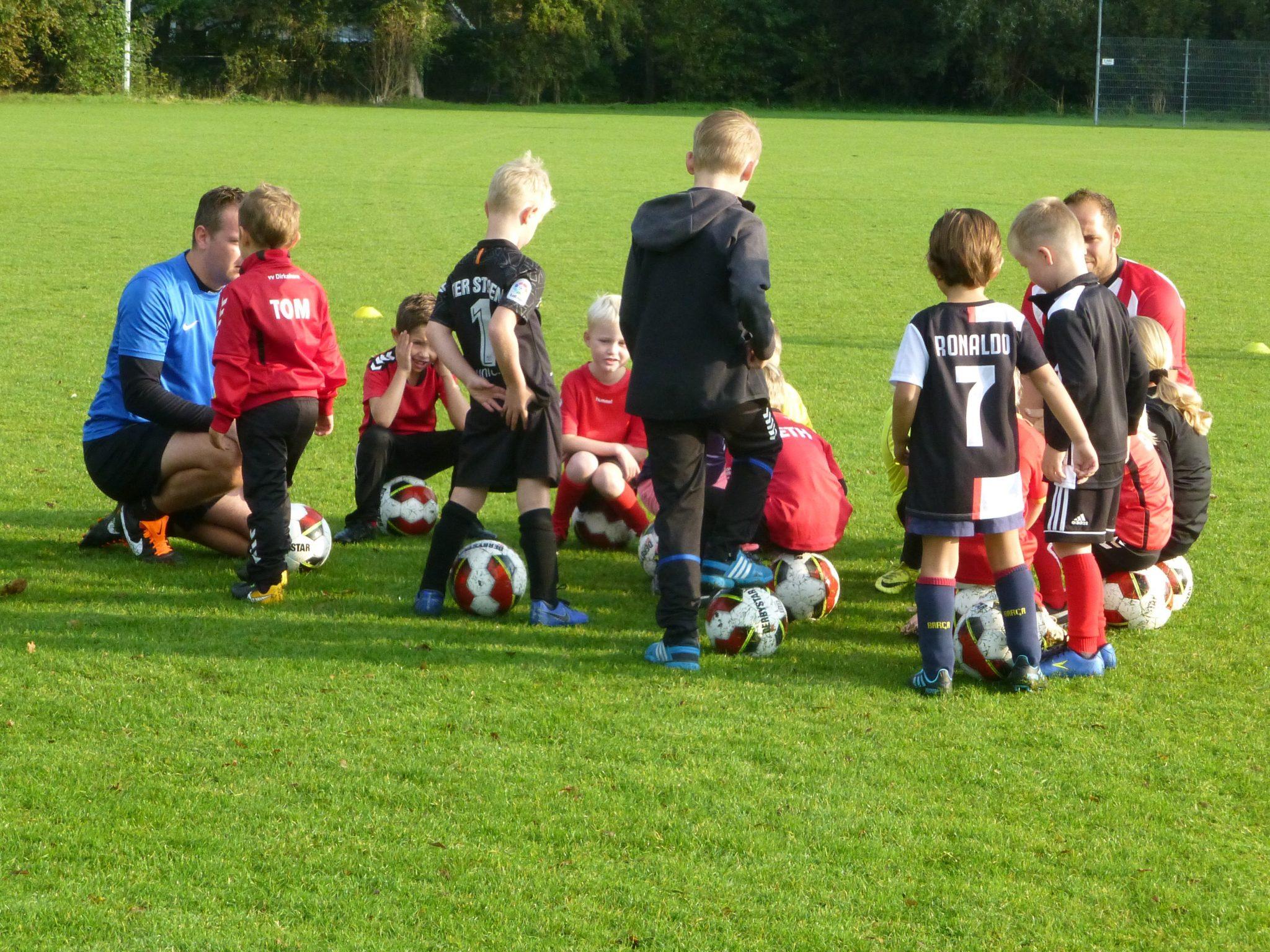 Een zaterdagmorgen bij VV Dirkshorn (foto's)